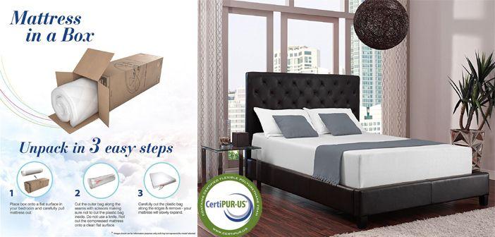 Signature Sleep Memoir 12 Inch Memory Foam Mattress Review