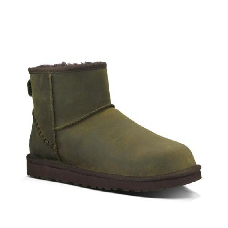 Ugg Men Classic Mini Deco 1003945 Burnt Olive
