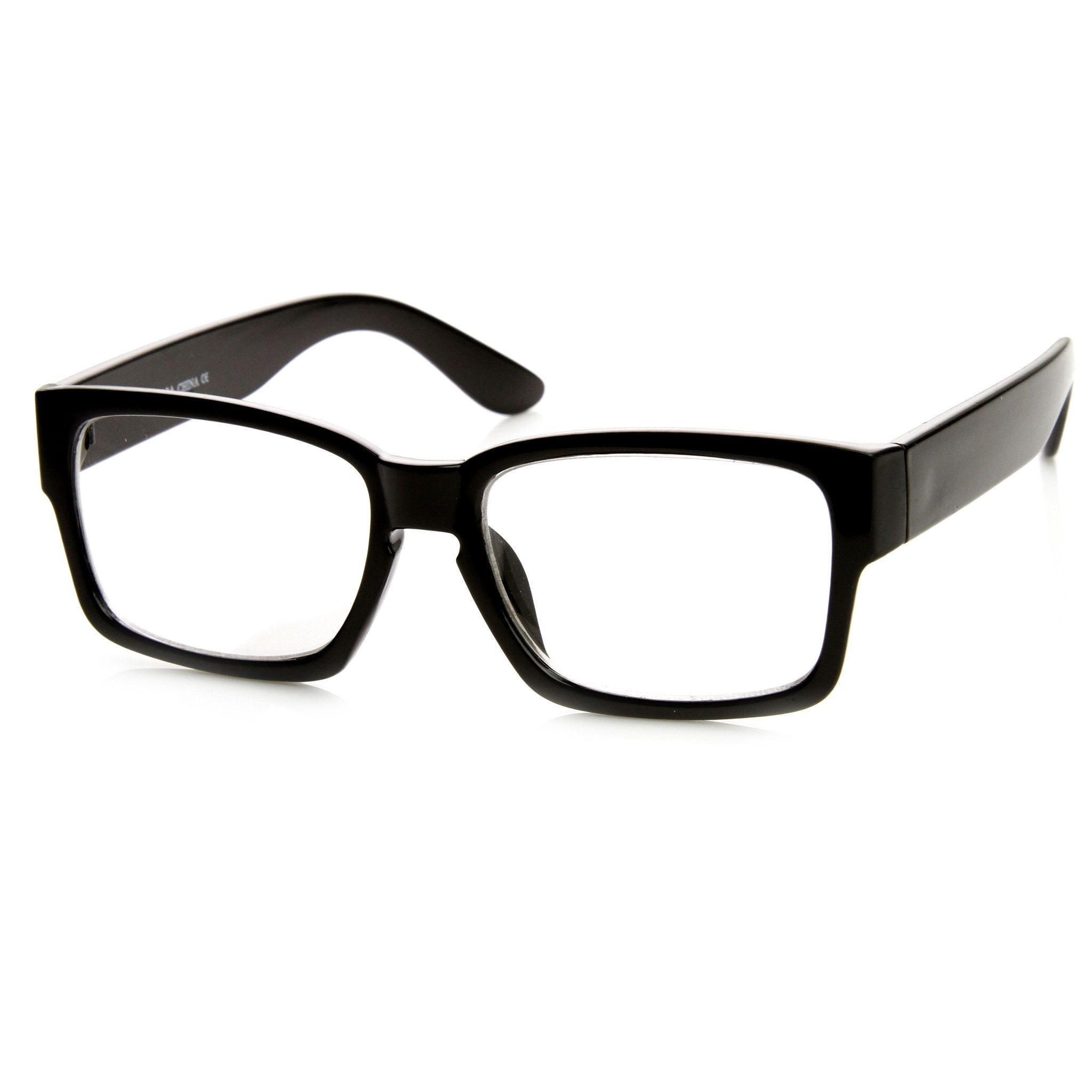 1f1f38e16a European Fashion Bold Modern Clear Lens Frames Glasses 8854 ...
