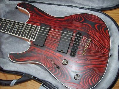 Lefty Mayones Setius Gothic 7 String Electric Guitar Left Hand With Hardcase - http://www.7stringguitar.org/for-sale/lefty-mayones-setius-gothic-7-string-electric-guitar-left-hand-with-hardcase-3/26794/