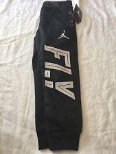 new york ba08d 441c4 Nike Air Jordan FLY Boys Jogger Therma Fit black sweatpants ...