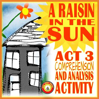 A Raisin In The Sun Act 3 Questions For Comprehension And Analysis