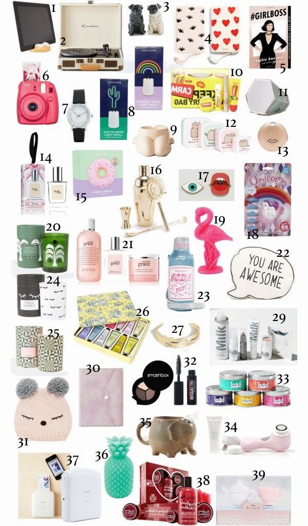 GIFT GUIDE; WHAT TO GET THE GIRLS IN YOUR LIFE | B
