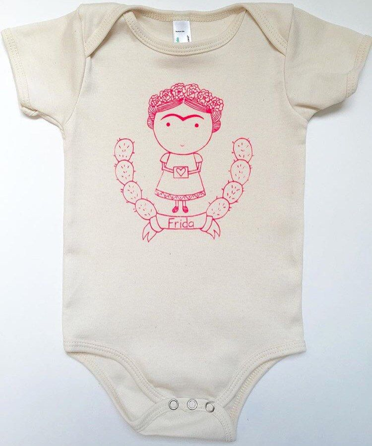 259fd9368 Frida onesie   Baby   Onesies, Baby, Clothes