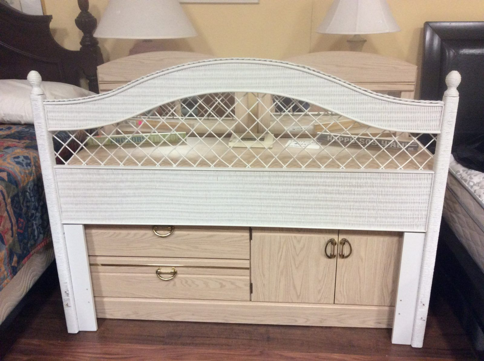 Diamond Jims Trading White Wicker Furniture Wood Furniture