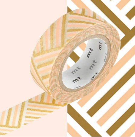 Spice up everyday objects with Corner Peach MT Washi Tape http://www.utilitydesign.co.uk/corner-peach-mt-tape