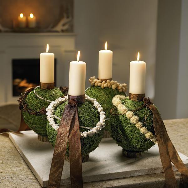 bildergebnis f r adventskranz ausgefallen weihnachtsdeko. Black Bedroom Furniture Sets. Home Design Ideas