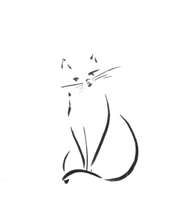 Hey, I found this really awesome Etsy listing at https://www.etsy.com/il-en/listing/239941553/cat-art-print-minimalist-cat-ink-drawing