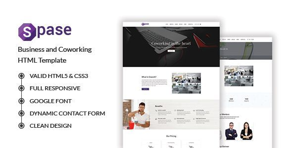 Spase - Business and Coworking HTML Template - Business Corporate