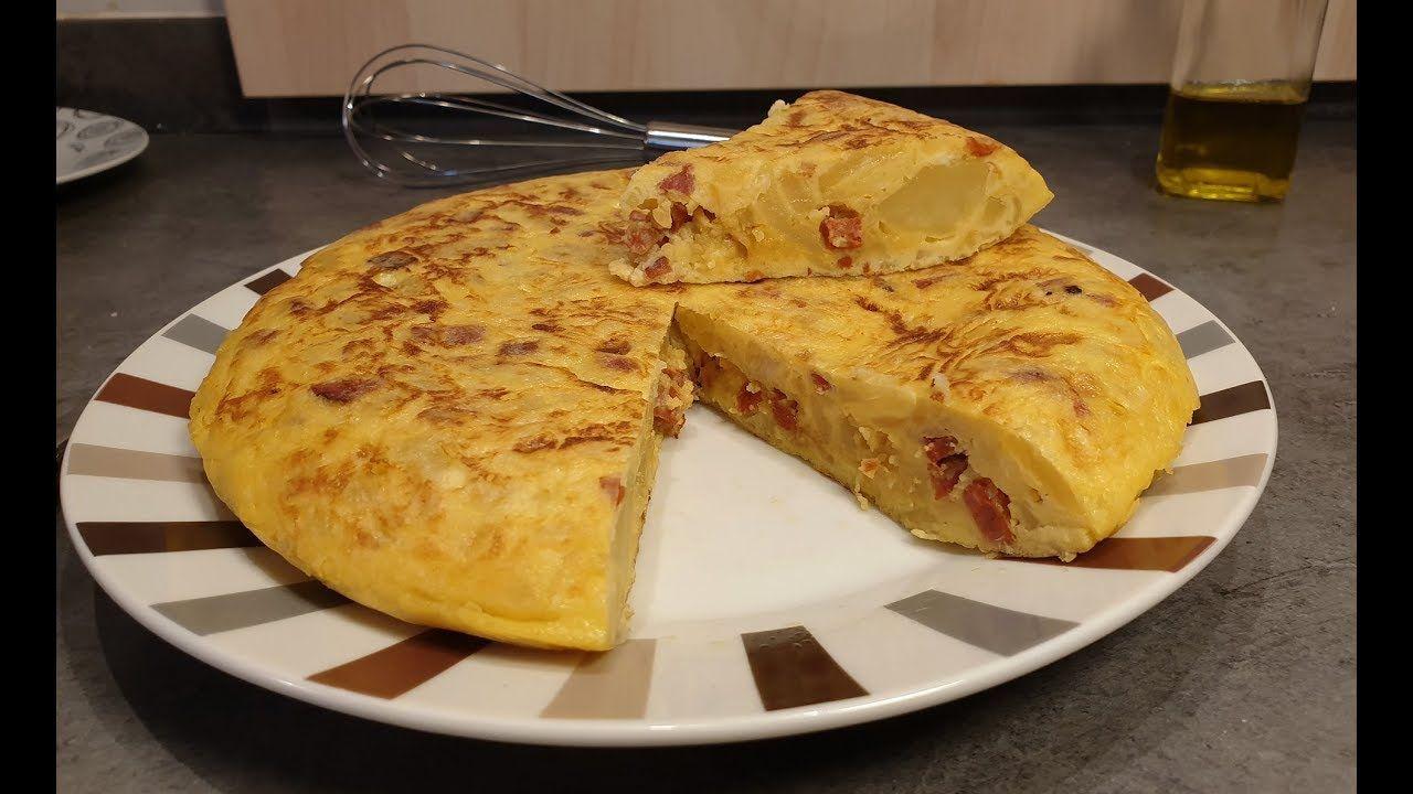 Tortilla De Papas Con Chorizo Cocina Con Rock Papas Con Chorizo Tortitas De Papa Receta De Torta