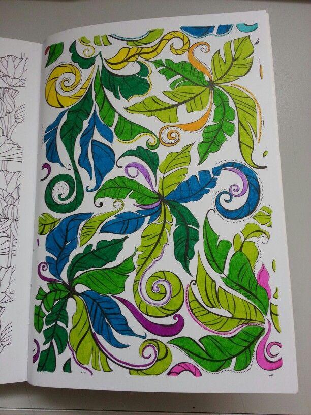 coloriage anti stress terminé