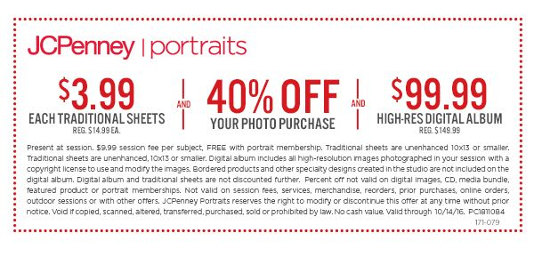 photography coupon i portrait