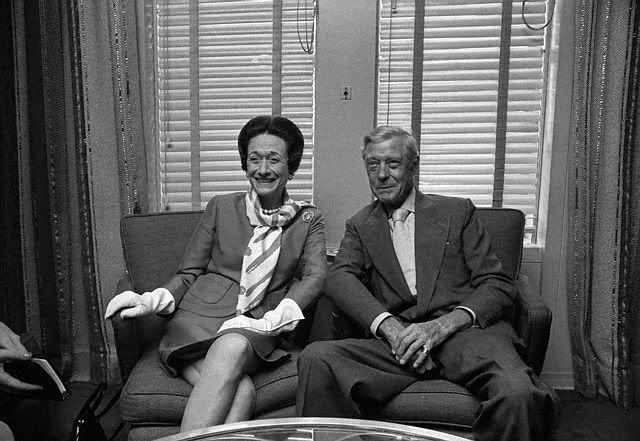 """July 12, 1968. aboard the luxury liner United States. He very effectively backed her into a corner so tight-arranging a """"civilized"""" divorce behind her back, When we were crossing the Atlantic on the liners she used to change twice a day - for lunch and dinner.' and she liked her underwear to be presented in a basket."""