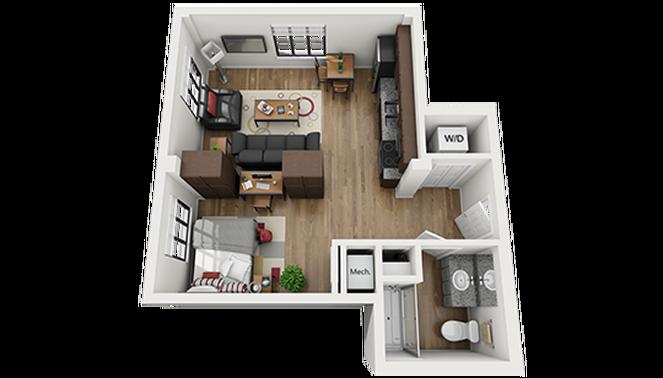 Charleston SC Studio Apartment Small house plans