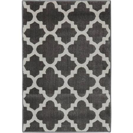 Better Homes and Gardens Tile Trellis Nylon Area Rug, Coco Praline