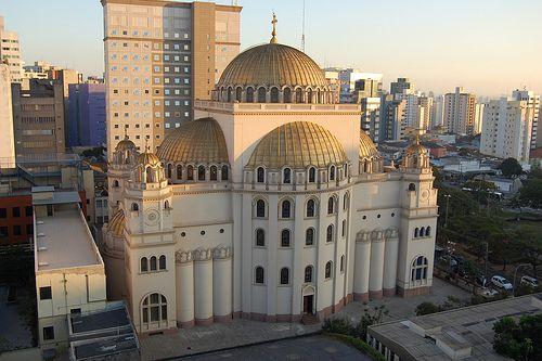 Catedral Ortodoxa De São Paulo Foreign Travel Byzantine Empire City