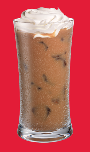 Whipped Iced Latté 3 parts Kahlúa, 1 part Whipped Vodka
