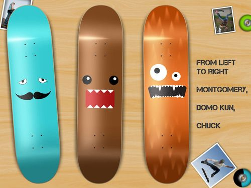 Quirky Creatures Deck Designs By Rob Cameron Skateboard