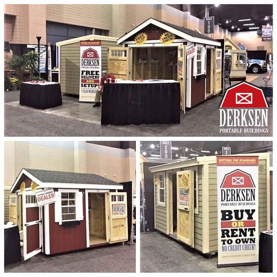 Come Join Derksen Portable Buildings At The 39th Annual Spring Atlanta Home  Show   March 24 26, 2017 @ Cobb Galleria Centre! We Are Set Up In Booth  #116 + ...