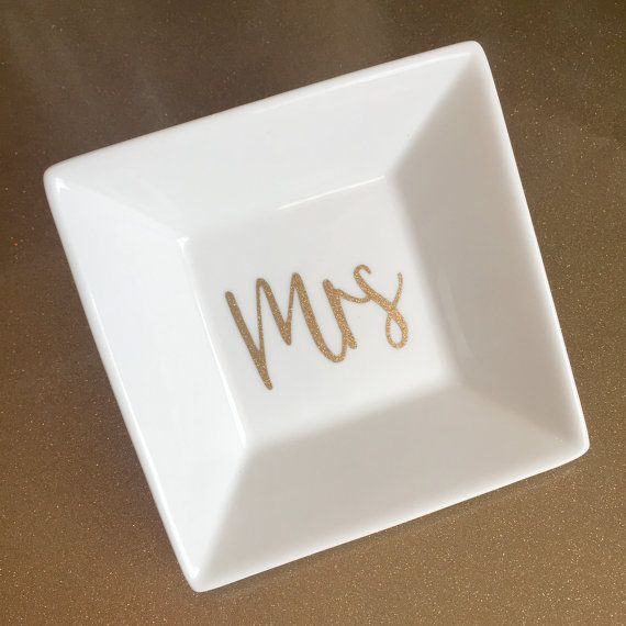 Wedding Ring Dish by greenivyboutique on Etsy