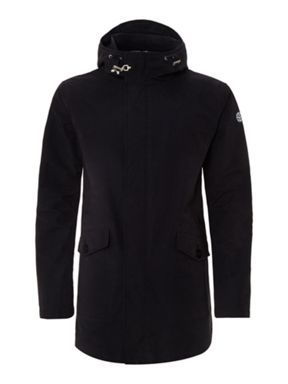 Armani Jeans Hooded jacket with Clasp Detailing