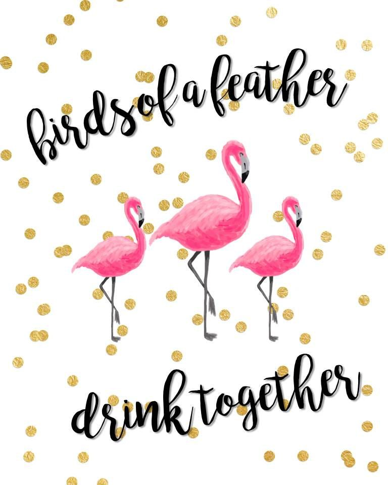 Let\'s Flamingle Bachelorette Party Pack by InviteBliss on Etsy ...