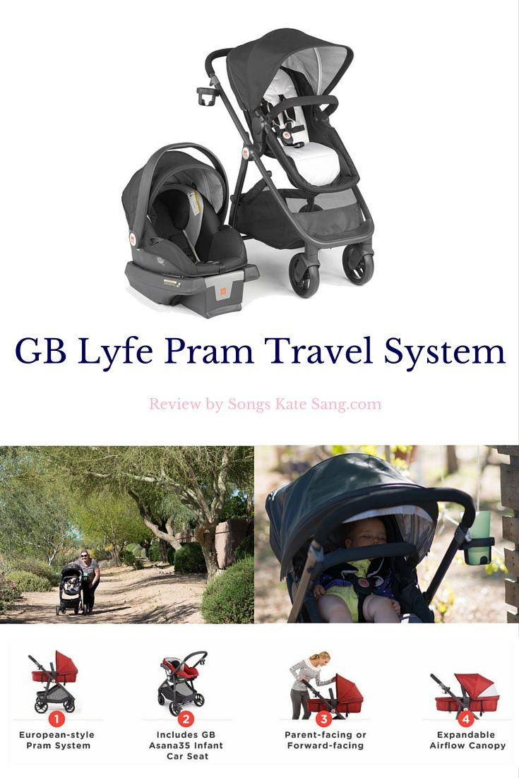 GB Lyfe Pram Travel System » Kate Eschbach via @songskatesang ...