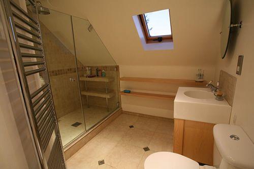 Shower In Attic Space Loft Bathroom Attic Shower Upstairs Bathrooms