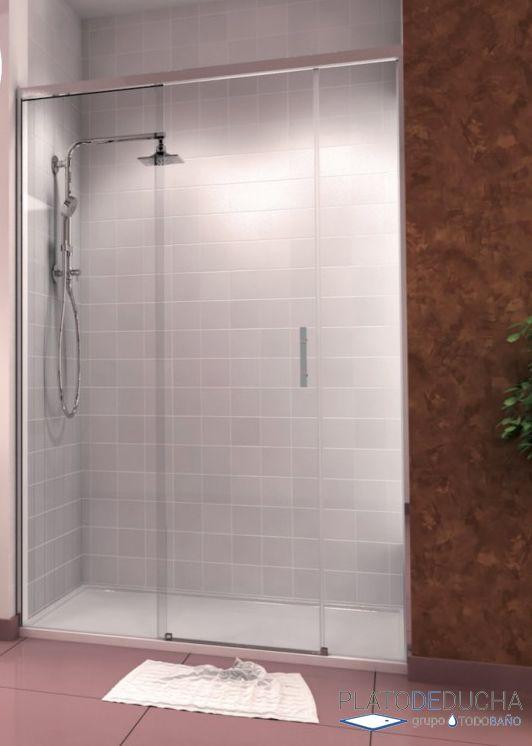 Mampara de ducha centauro 1 hoja corredera y 2 hojas for Tratamiento antical mamparas