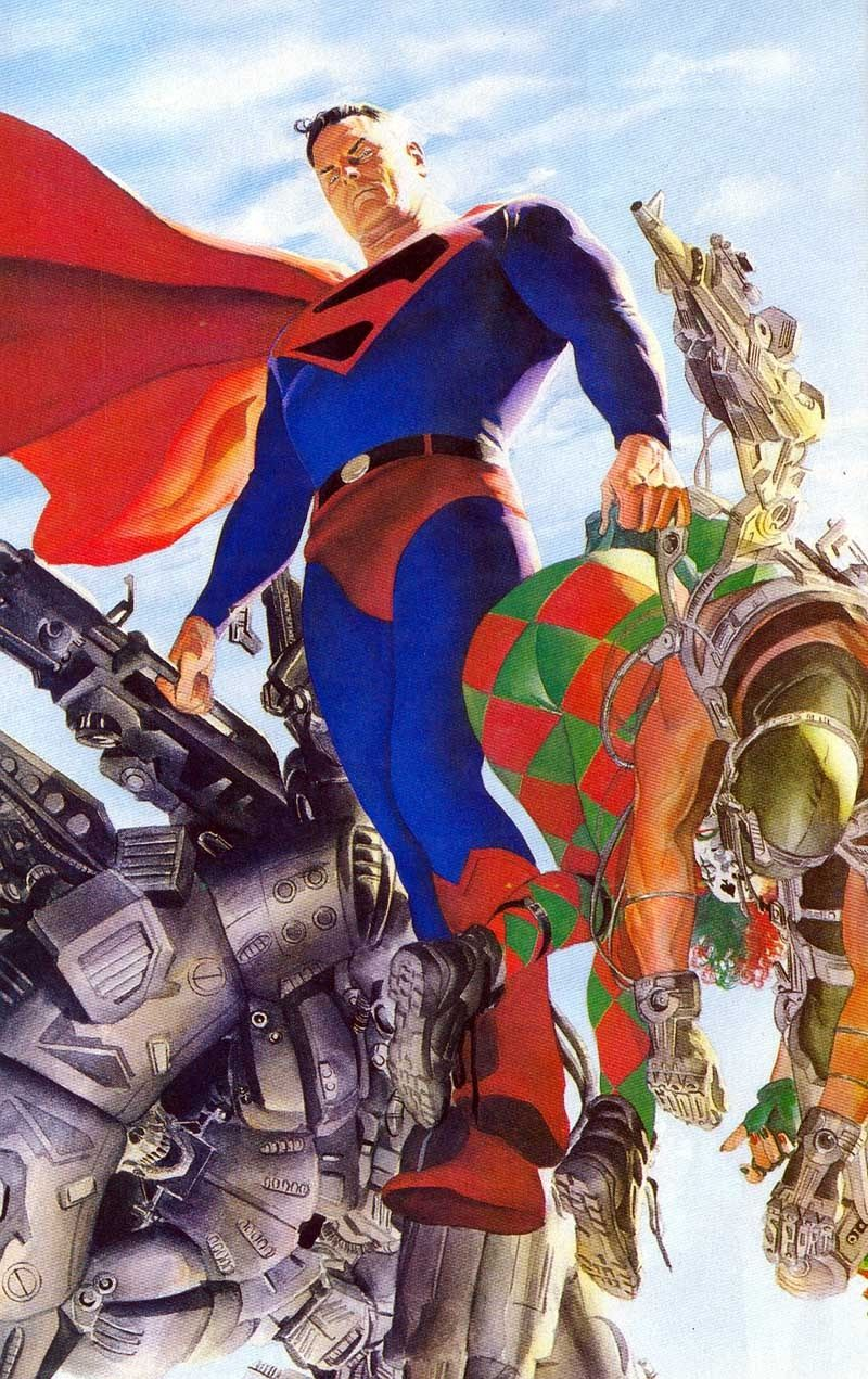 Always have some love for Alex Ross' work