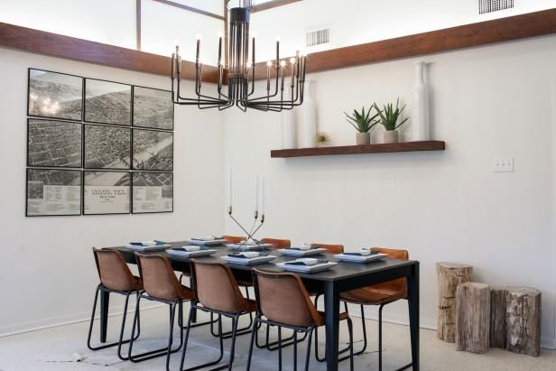 Fill Your Walls With Fixer Upper Inspired Artwork 11 Easy To Copy Looks Fixer Upper Dining Room Fixer Upper Dining Room Decor