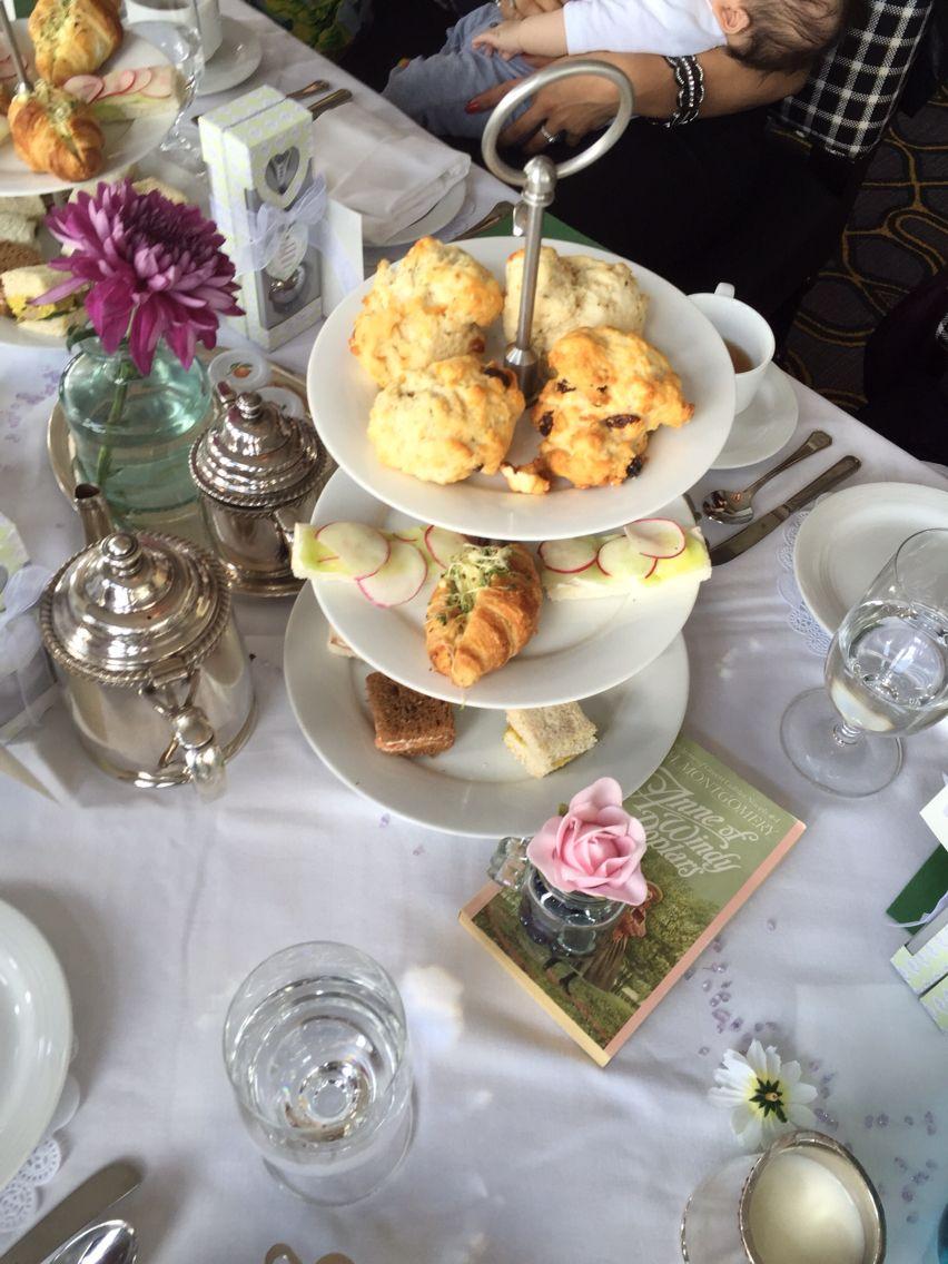High tea Anne of Green Gables bridal shower