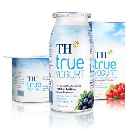 Th True Yogurt Yogurt Packaging Dairy Packaging Yogurt