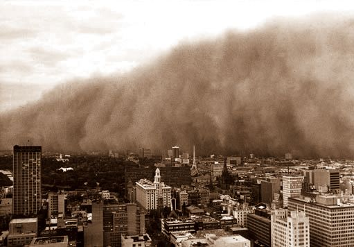 : Dust storm, Melbourne, February 1983 - courtesy Trevor ...