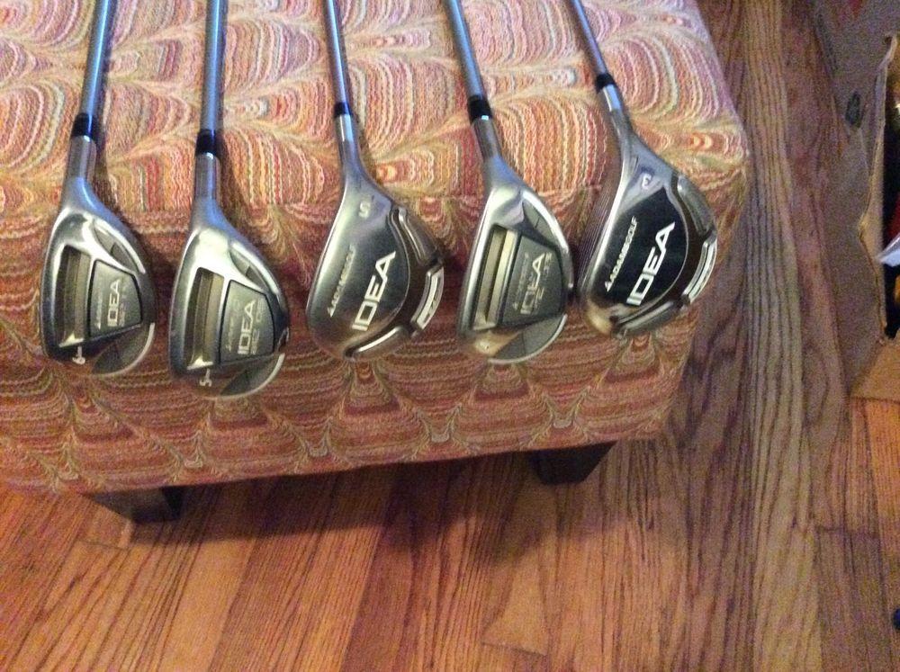 Adams Golf 4 5 6 Irons 3 5 Driver Idea Ultra Lite Women S Clubs Right Hand Women Drivers Golf Clubs Golf