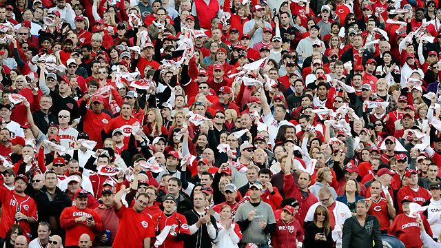 Cincinnati reds fans