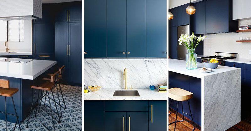 Kitchen Design Idea - Deep Blue Kitchens Kitchens, Kitchen redo