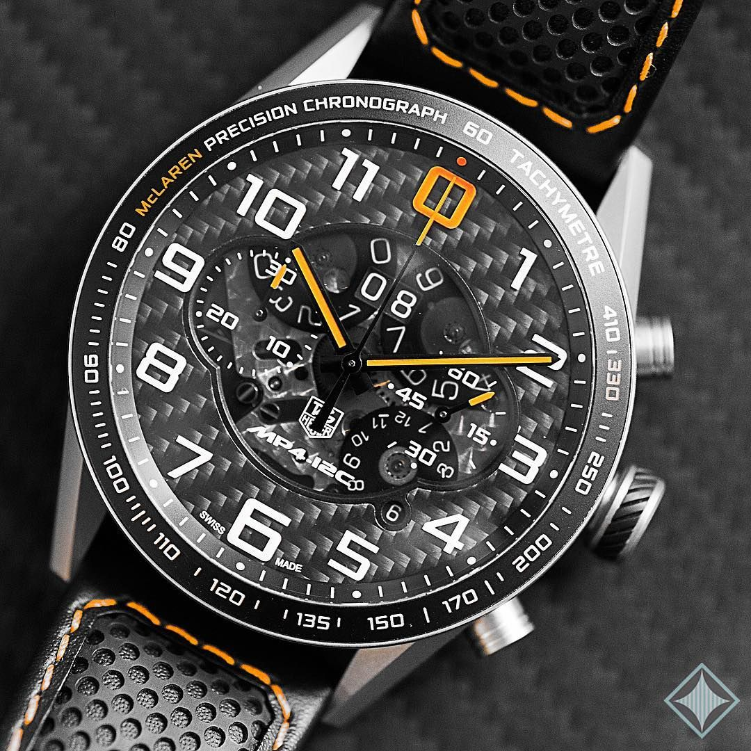 Tag Heuer edition McLAREN MP4-12C in anium and carbon. | Watch ...