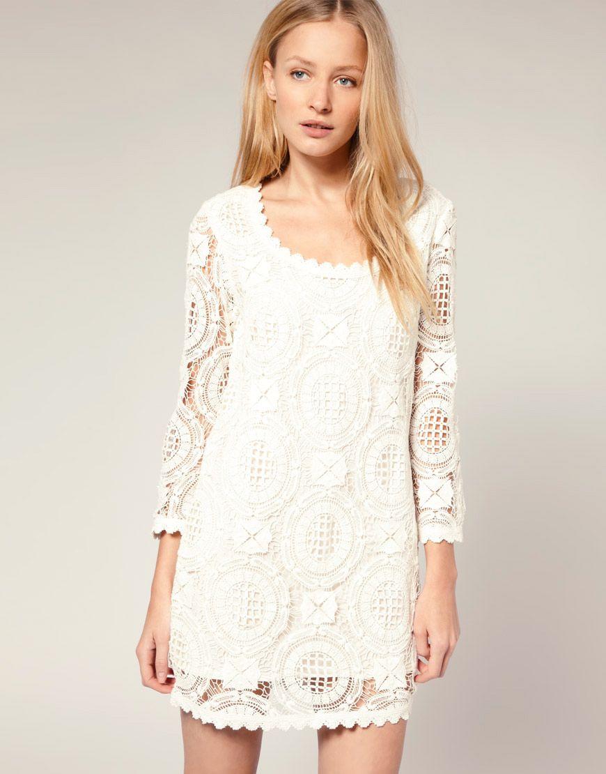 white lace dressLoveBrownSugar Ask LBS White Lace Dresses lPwGCXMC ...