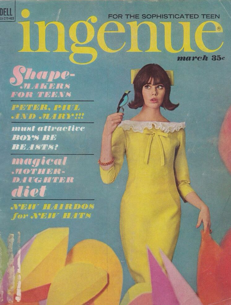 colleen corby ingenue magazine march 1964 ingenue magazine