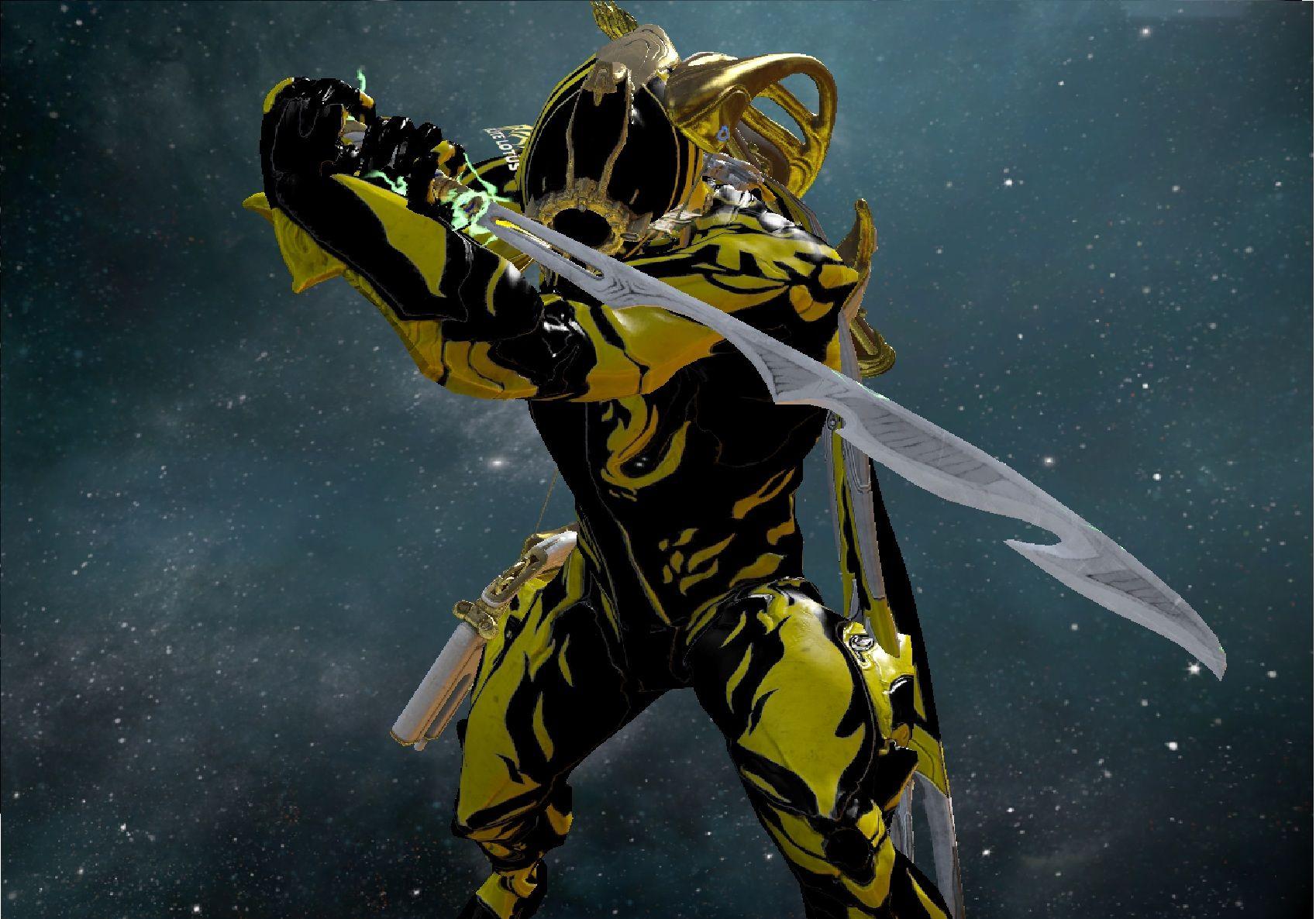 Warframe Excalibur Immortal Skin
