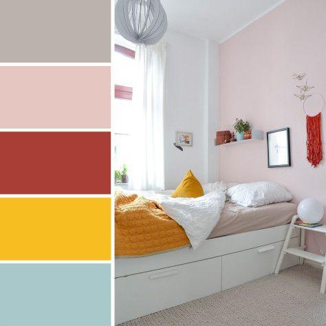 Mit diesen Farben strahlt euer Schlafzimmer (mit Bildern ...