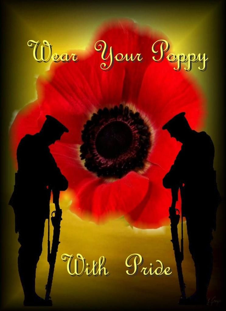 Forcespride on | Finding Your Feet | Remembrance day poppy