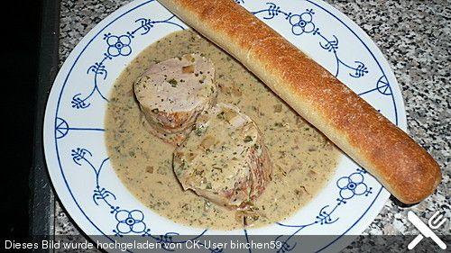 Schweinefilet mit Kräutern (Rezept mit Bild) von binchen59   Chefkoch.de