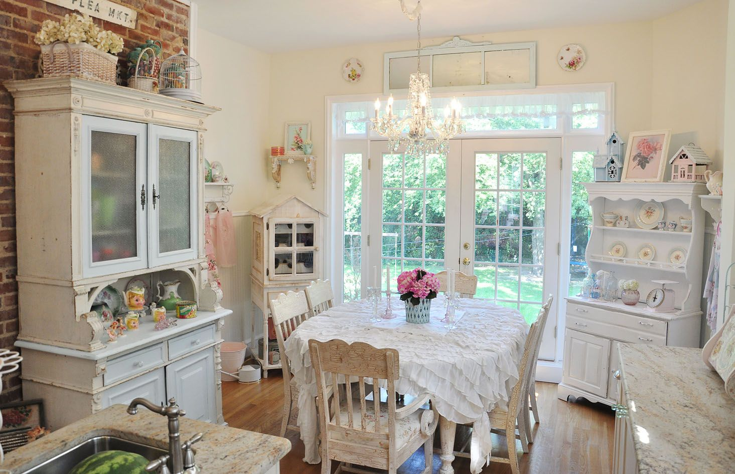 Shabby Cottage Kitchen With Images