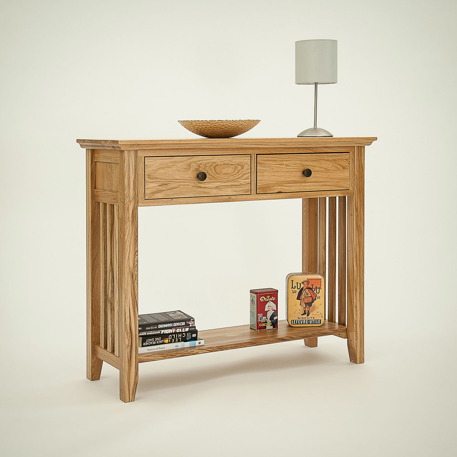 Beautiful Real Wood Console Tables Oak Pine Painted Ranges The Cotswold Company Hereford Rustic Hall
