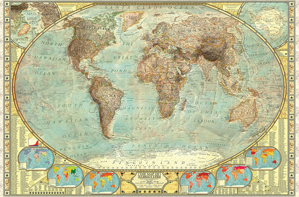 A 17 year old created this insanely detailed map of stereotypes a 17 year old created this insanely detailed map of stereotypes gumiabroncs Gallery