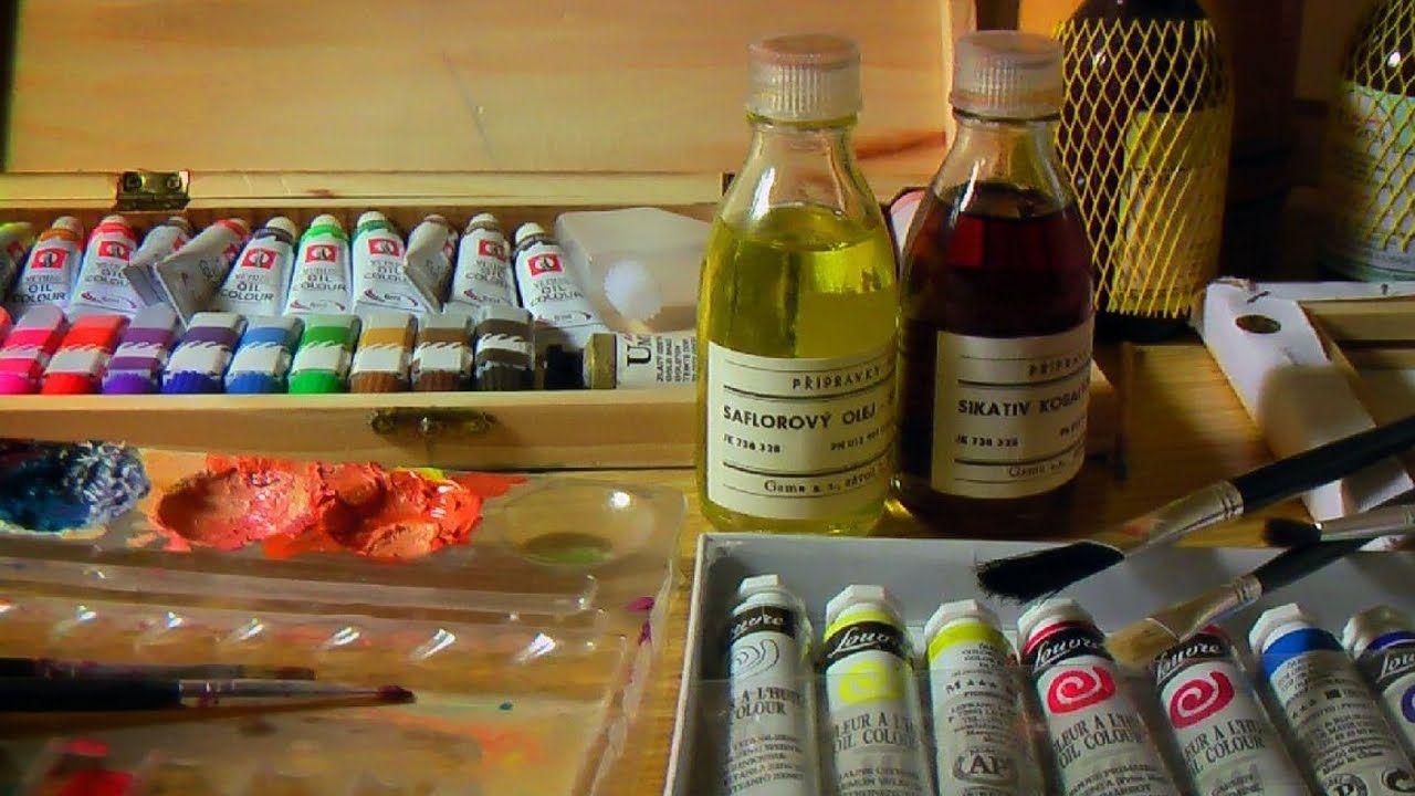 qu materiales utilizar para pintar al leo curso de pintura principia