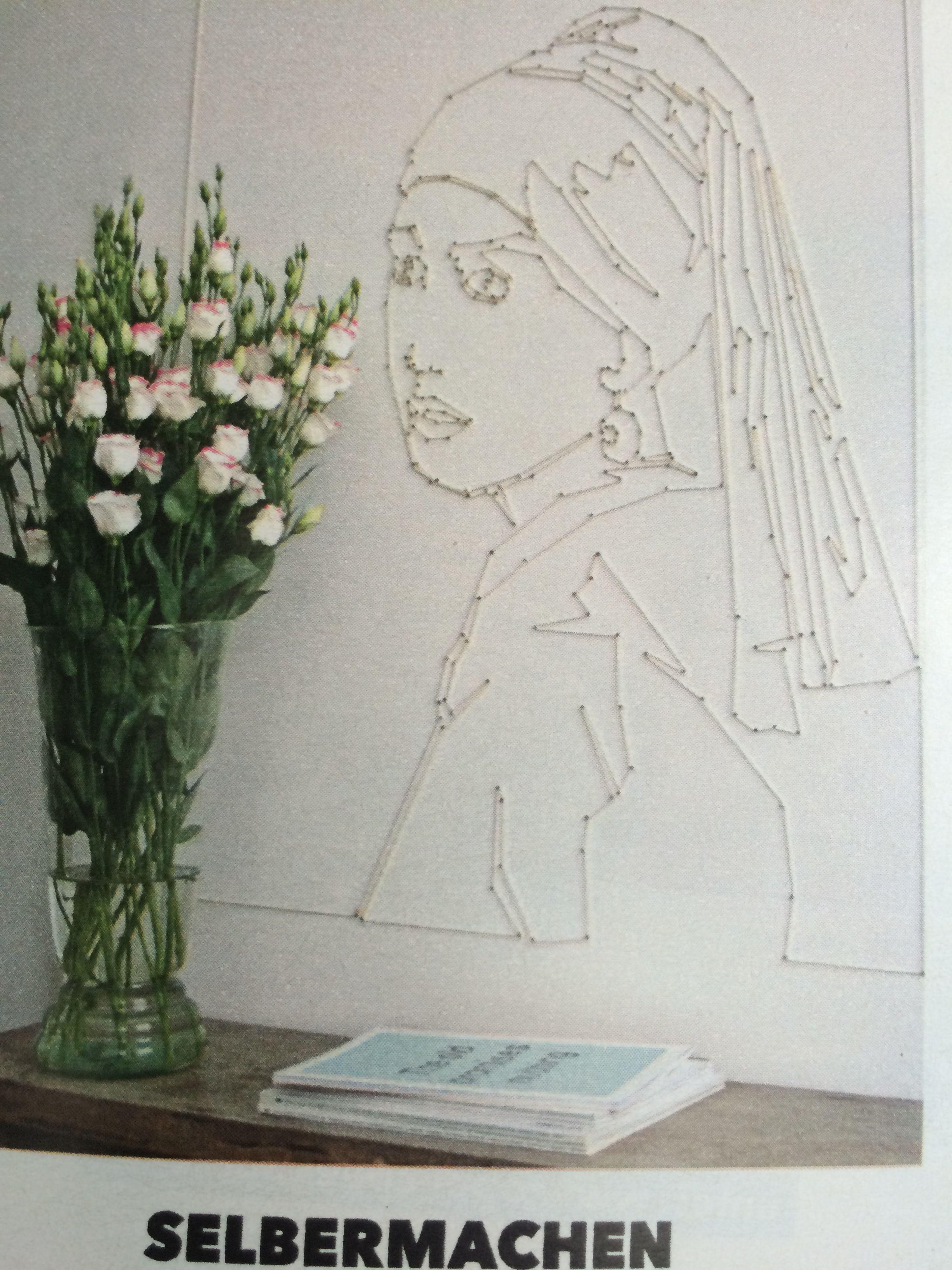 Wandbild Zum Malen Nach Zahlen Farben Der Weiblichkeit Abstract