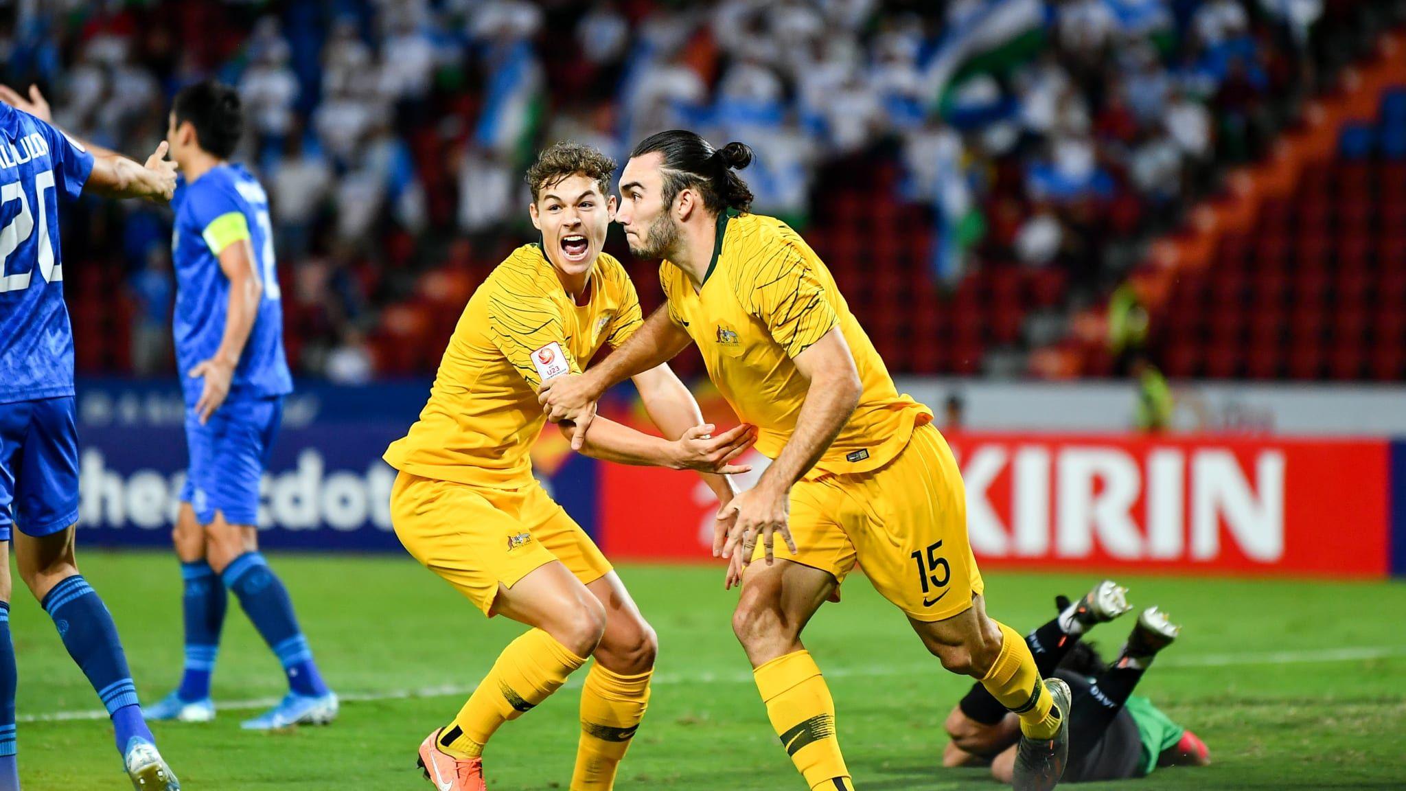 Olympic Football Tournaments 2020 Men News Australia book